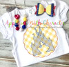Snow Girl in Castle Sketch Embroidery Design