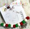 Frostee Snowman Bean Stitch Design