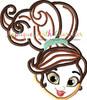 Princess Knight Peeker Applique Design