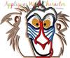 Lion Royalty Rafiki Baboon Peeker Applique Design