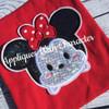 Miss Mouse Tsum Tsum SET   Applique Design