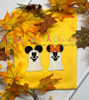Miss Mouse and Mr Mouse Ghost Applique Design