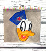Don Duck Cruise Full Face Applique Design