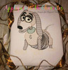 Toy Story Slinky Dog Sketch Embroidery Design