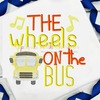 Wheels on the Bus Nursery Rhyme Sketch Design