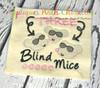 Three Blind Mice Sketch Nursery Rhyme Design