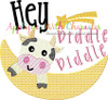 Hey Diddle Diddle Sketch Nursery Rhyme Design