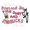 Pixie Dust and Starbucks  Applique Design