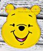 Honey Bear Full Face Applique Design