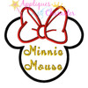 Miss Mouse Signature  Applique Design