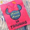 Miss Mouse In Training Applique Design