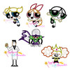 Puffy Power Girl Applique 6 Design Set