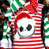 Nightmare Before Christmas Santa Jack Skeleton Applique Design