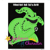 Nightmare Before Christmas Oogie Boogie Filled Embroidery Design