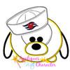 Pluto Cruise Tsum Tsum Applique Design