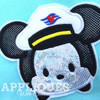 Mickey Captain Cruise Tsum Tsum Applique Design