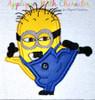 Ninja Minione Applique Design