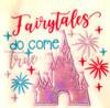 Fairytales Do Come True Castle Applique Design