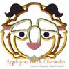Beauty Beast Tsum Tsum Applique Design