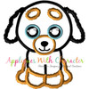 Beanie Doggy Applique Design