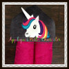 3D Unicorn Peeker Applique Design