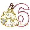 Beauty Bella Six Applique Design