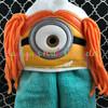 Yellow Girl 3D Peeker Applique Design