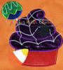 Halloween Cupcake Applique Design