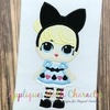 Alice Doll Applique Design