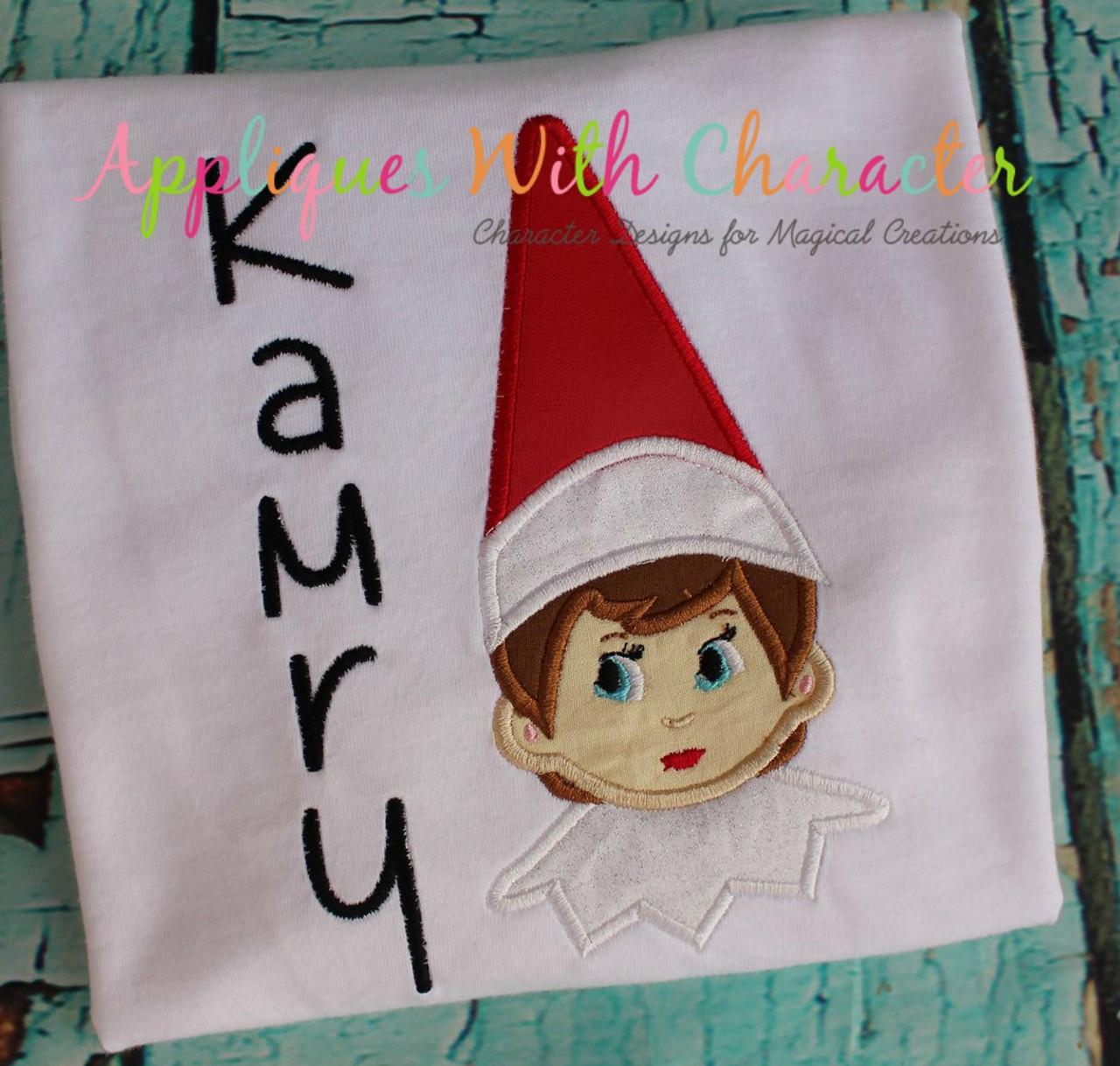 936489c130507 Boy Elf on the Shelf Applique Design