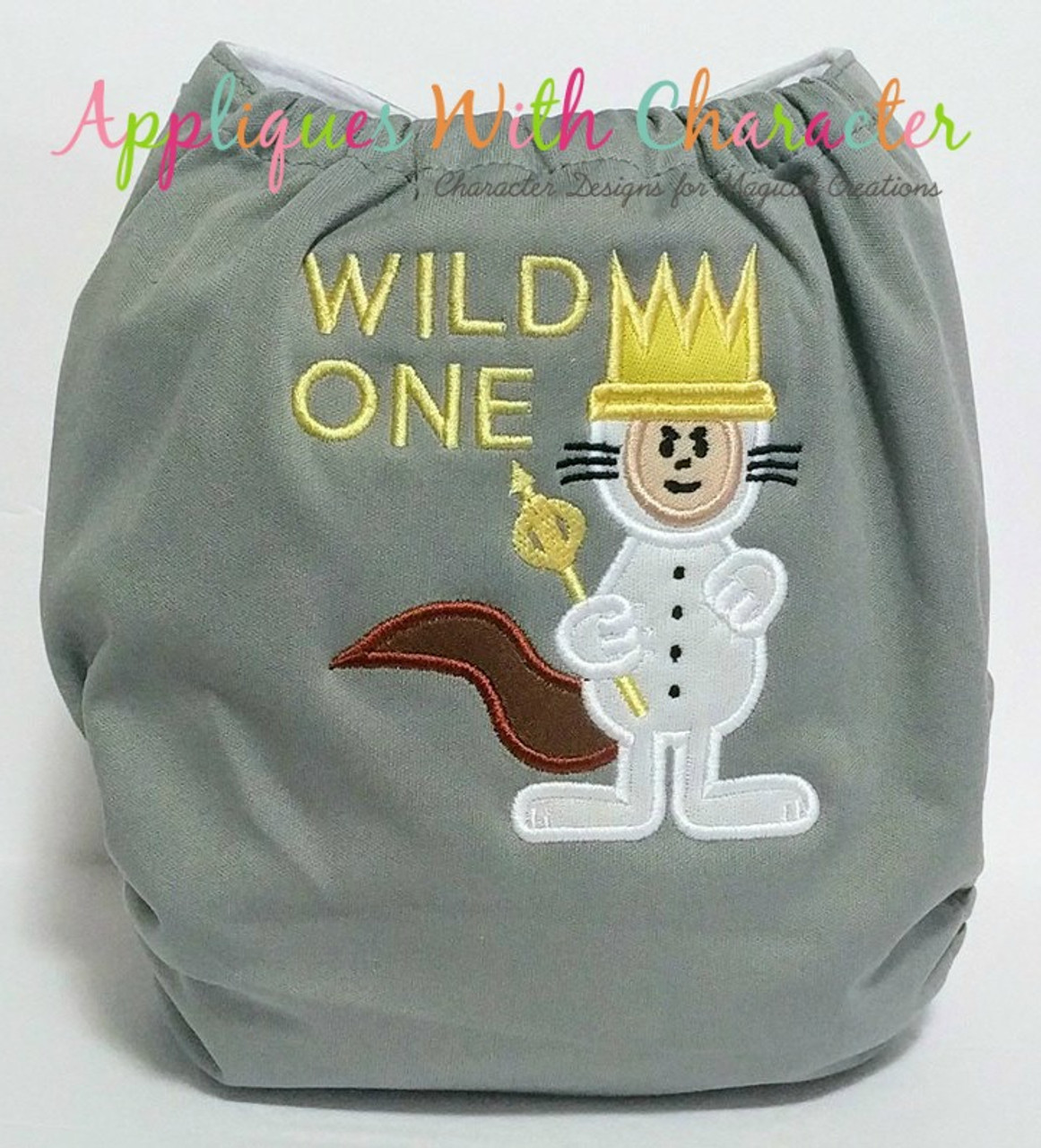 Where The Wild Things Are Max Applique Design