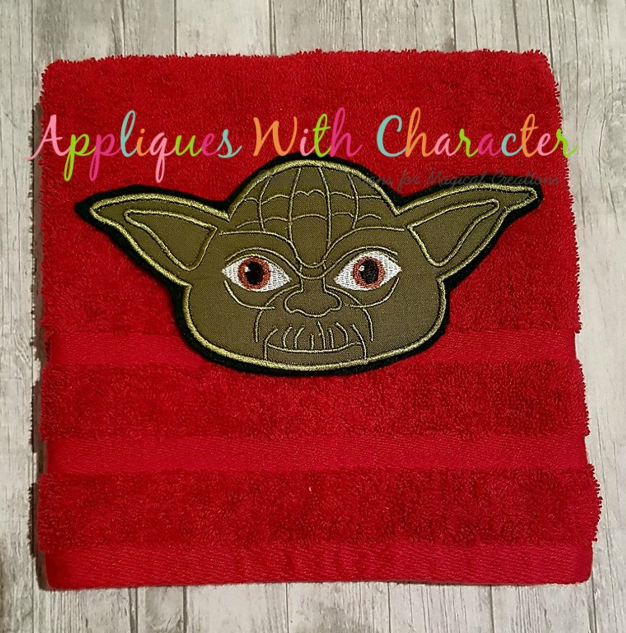 3c411c2f8b545 ... Yoda Full Face Star Battles Applique Design ...