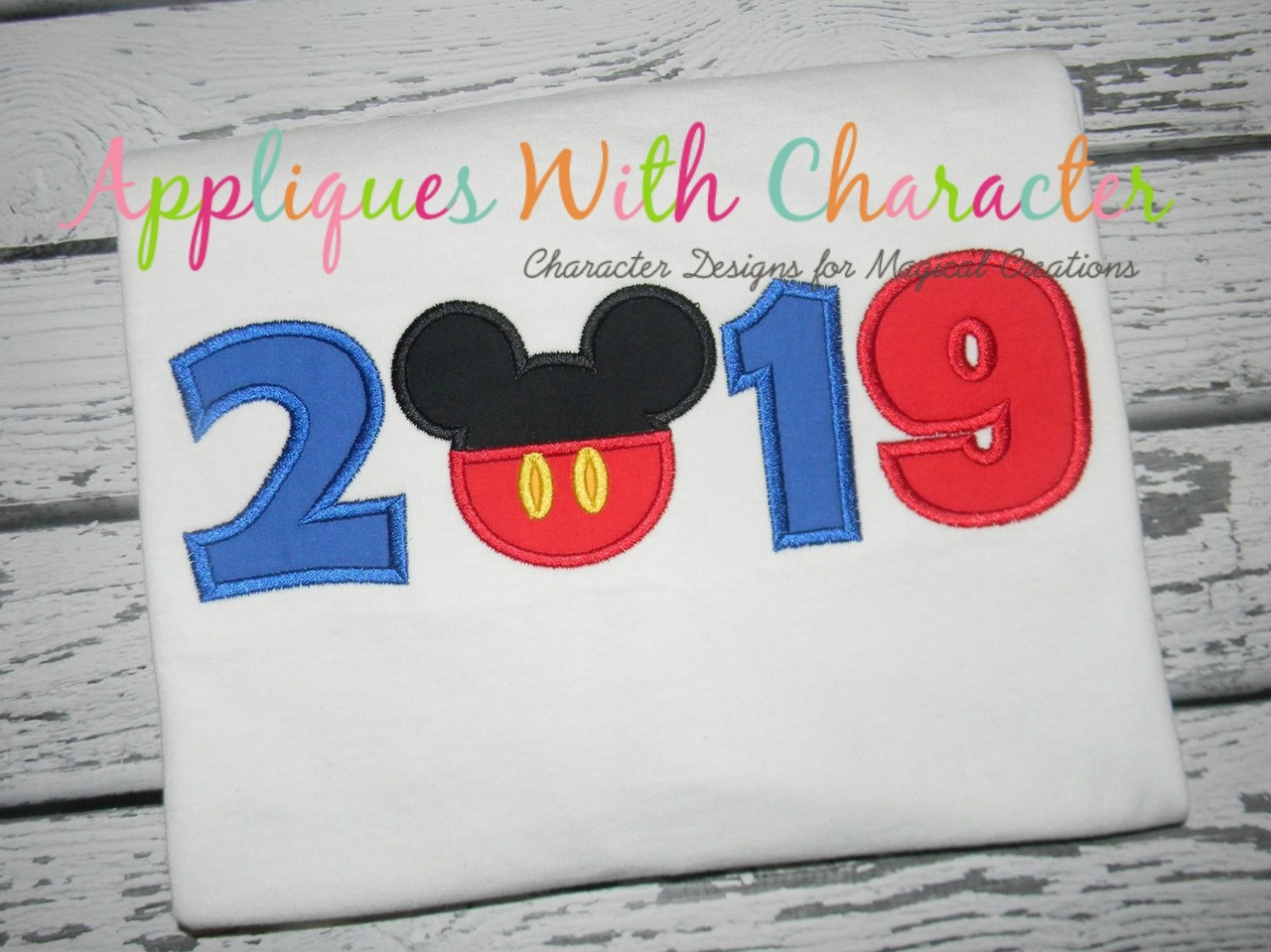 2019 mickey head applique design by appliques with character