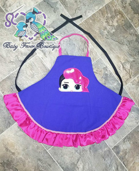 Rocker Doll Peeker Applique Design
