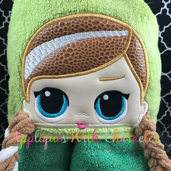 Anna Doll Peeker Applique Design