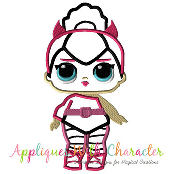 Spice Doll Applique Design