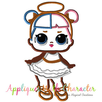 Sugar Doll Applique Design