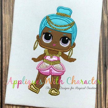 Genie Doll Applique Design