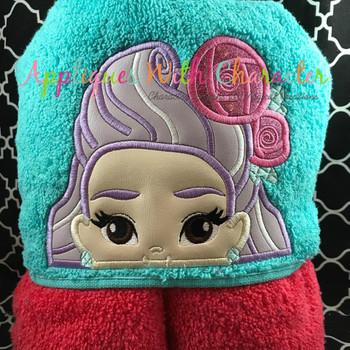 Sun Girl Blaire Peeker Applique Design