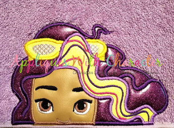 Sun Girl - Roxy Peeker Applique Design