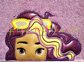 Sun Girl - Roxy Peeker Applique Design