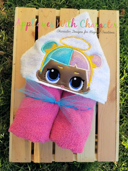 Sugar Doll Peeker Applique Design