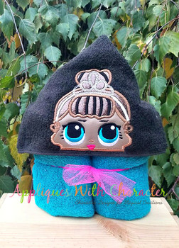 Miss Baby Doll Peeker Applique Design