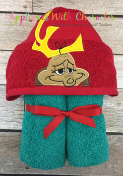 Grinchy Max Peeker Applique Design