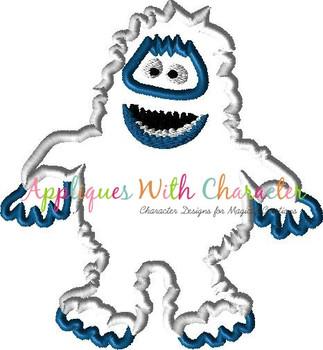 Rudy Abominable Snowman Applique Design