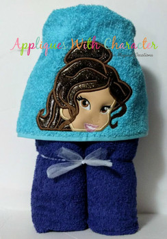 Beauty Peeker Applique Design