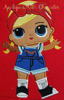 Shorty Full Body Applique Design