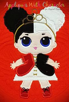 Heartbreaker Doll Applique Design