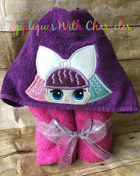 Pranksta Peeker Doll Applique Design