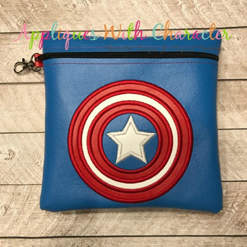 America Hero Applique Design